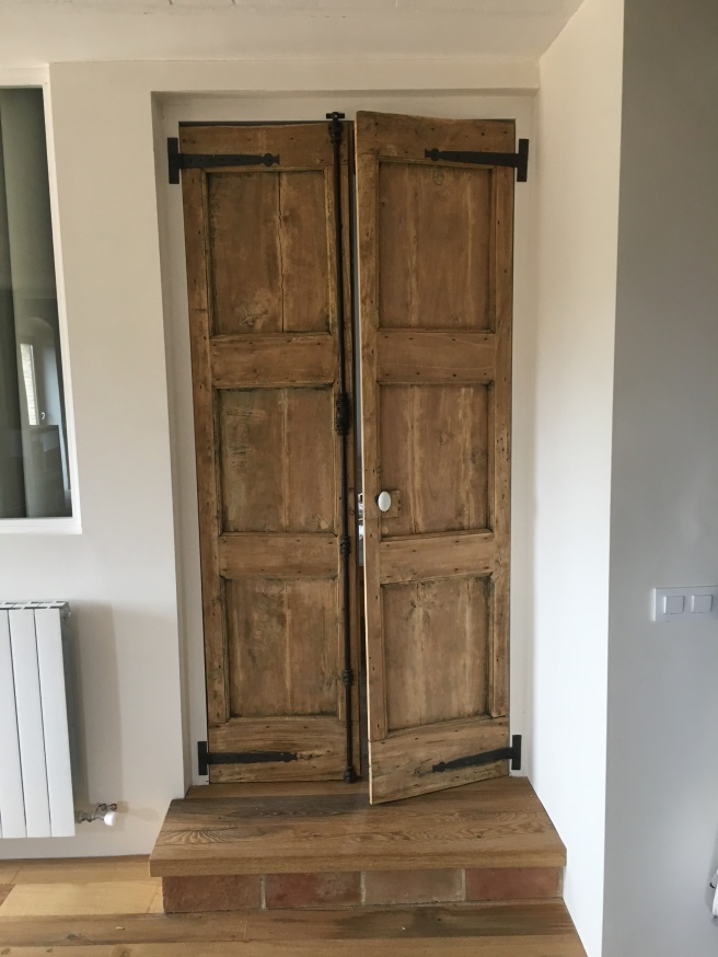 bedroom door after