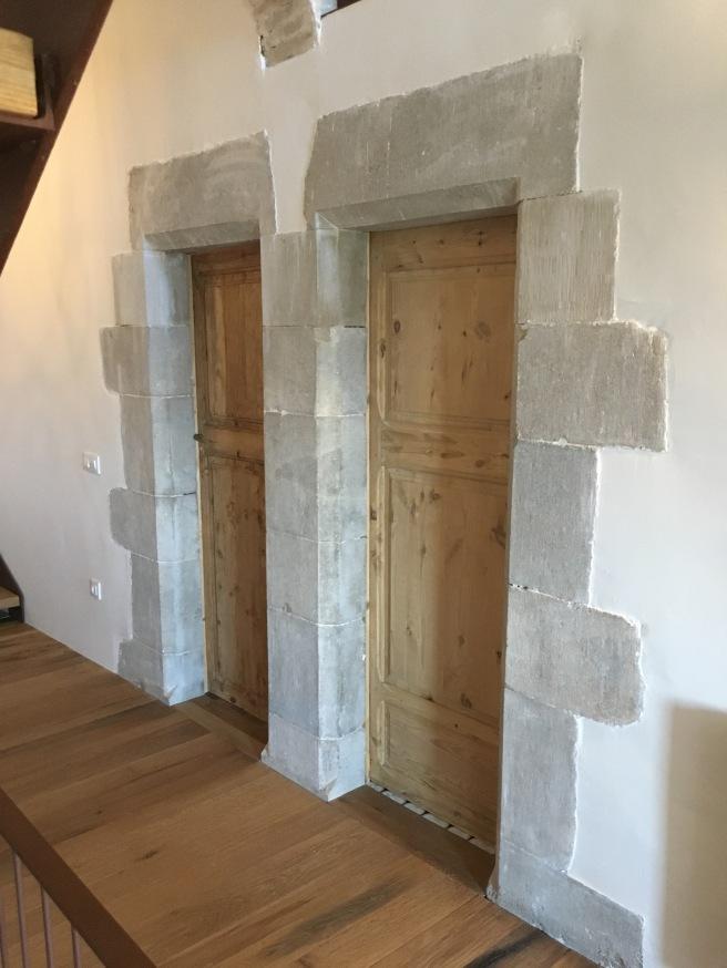 hallway doors after